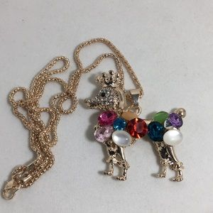 Jewelry - Large Poodle Pendant and Chain